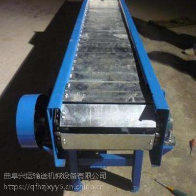 链板输送机品牌直销 铁件运输链板输送机结构专业厂家