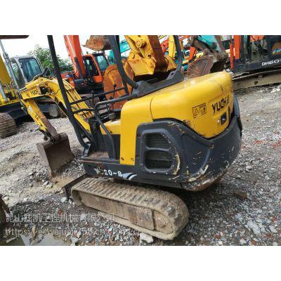 玉柴20-8二手挖掘机微型挖机果园农田使用挖掘机