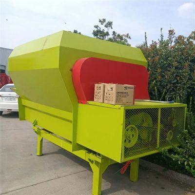牛羊草料混合机 厂家直销TMR饲料搅拌机 农场养殖TMR饲料搅拌机