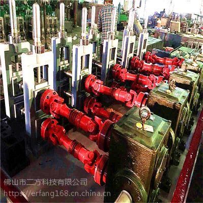 广东120高频汽车排气管焊管机组 金属普碳钢焊管机设备厂家