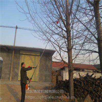 不用梯子就能修剪树枝的机器 铁钢管3米高空修剪机 浩发