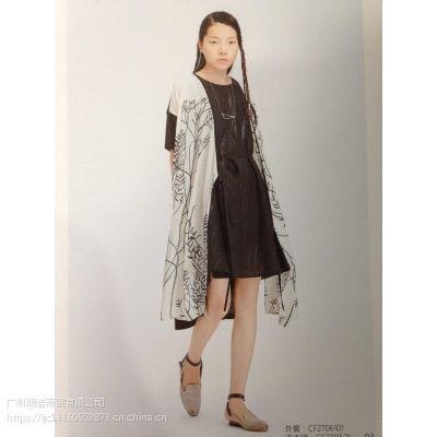 广州依丁可唯春夏装品牌女装折扣尾货批发市场