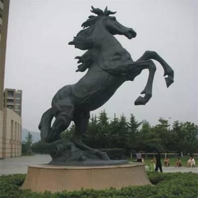 天津铜马-雕塑厂家-阿波罗战车铜马雕塑