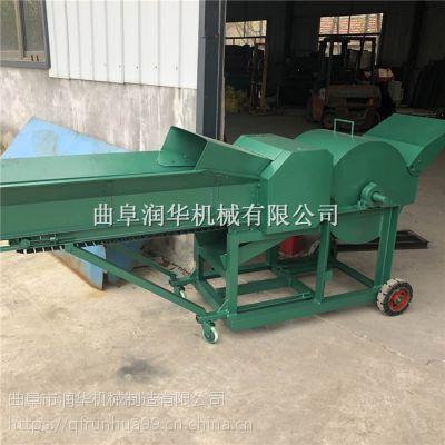 牛场青储草料铡草机 小四轮带动揉丝机 农场粉碎秸杆揉草机