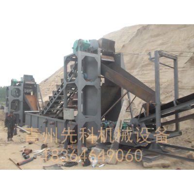 青州先科斗轮式洗沙机、挖斗式洗沙机价格、简述