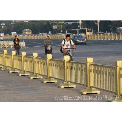 市政道路金色栏杆防撞黄金护栏