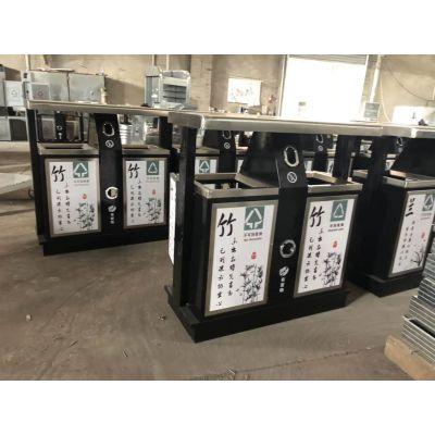 三原县塑料-不锈钢-镀锌板-金属垃圾箱原装现货|西安 鑫中星