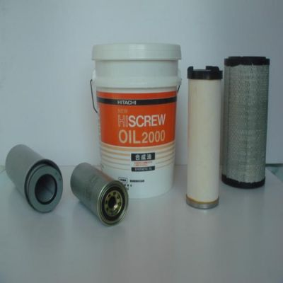 日立空压机油气分离器|空压机三滤配件