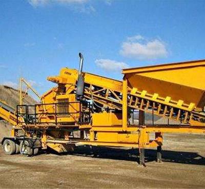 砂石移动破碎站种类-陕西省砂石移动破碎站-巩义佰盈机械