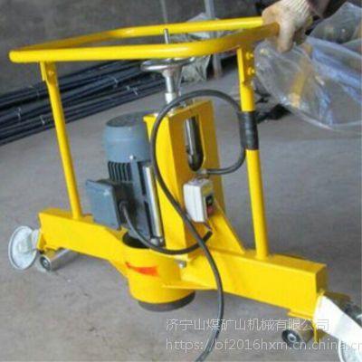 铁路用电动钢轨仿形打磨机 50kg电动打磨机 山煤机械 24kg钢轨仿形磨光机
