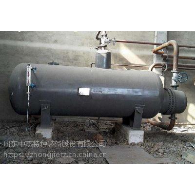 中杰特装2吨导热油蒸汽发生器 3吨导热油换热器三十年设计制造老品牌