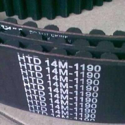泉州橡胶HTD14M同步带 耐磨抗拉高扭矩机械传动齿型带