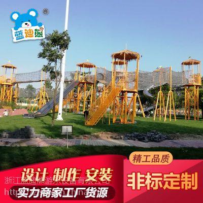 户外大型攀爬网 亲子互动主题乐园 公园拓展体能训练攀爬网厂家