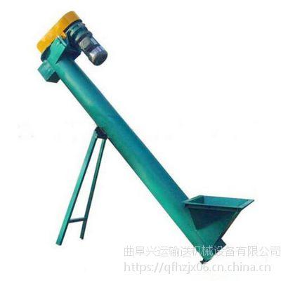 螺旋输送机叶片制作厂家推荐 圆管式螺旋提升机价格哪里专卖