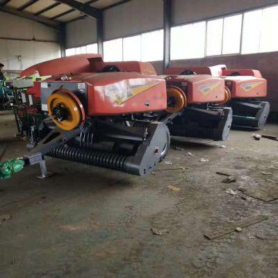 出售全新玉米秸秆打捆机 移动式牧草秸秆打包机 全自动青饲料打捆包膜机