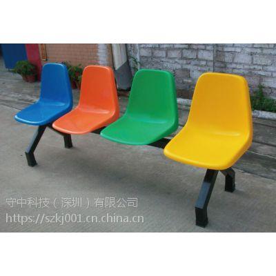 玻璃钢等候排椅-三人位诊所候诊椅-公共休息看台座椅-广东守中(深圳)有限公司