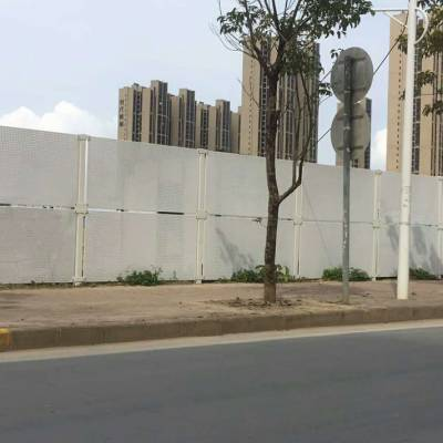 冲孔板护栏现货 基坑冲孔围挡 道路施工新型围挡厂家热销