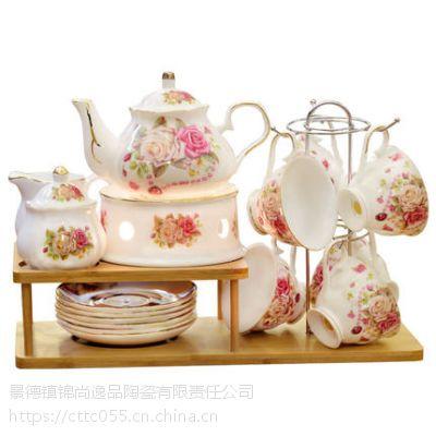 乔迁新居礼品结婚新婚送礼物创意实用高档骨瓷咖啡具套装