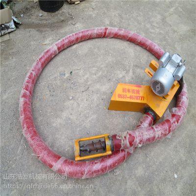 种子皮管抽粮机械 软管螺旋式抽粮机