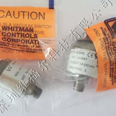 供应Whitman Controls真空压力开关 P117V-3H-C52L-DIS