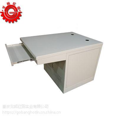 重庆钣金加工定制800*1000*760(冷轧板)橘纹喷塑操作台