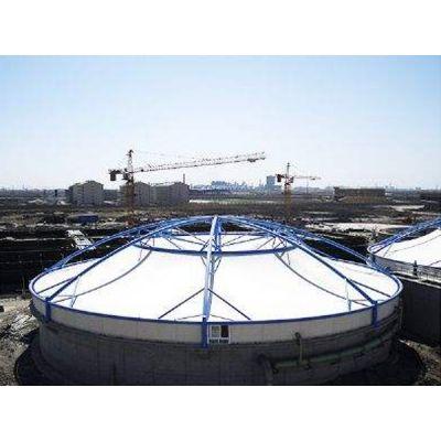 驻马店七色膜结构污水池罩 鹤壁污水池加盖膜结构