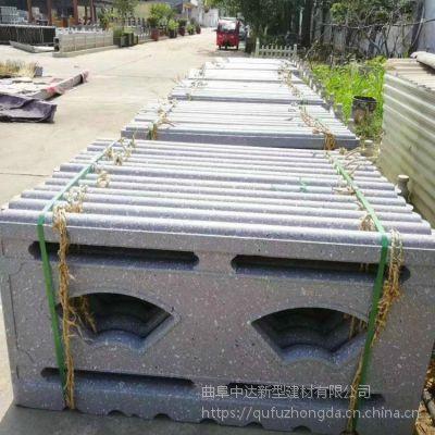 北京水泥仿石景观护栏厂家 钢筋混凝土预制仿石栏杆