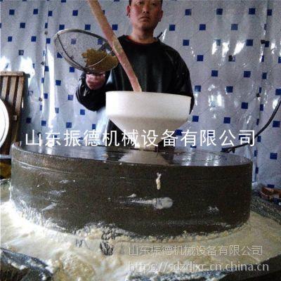 莱芜豆浆石磨机 电动石磨花生酱机 振德 砂岩芝麻盐机 图片参考
