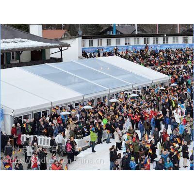 卡帕帐篷出租,云南大型商品贸易活动帐篷供应出租出售,材料采用高强度铝合金架子,双面刀割PVC涂层布