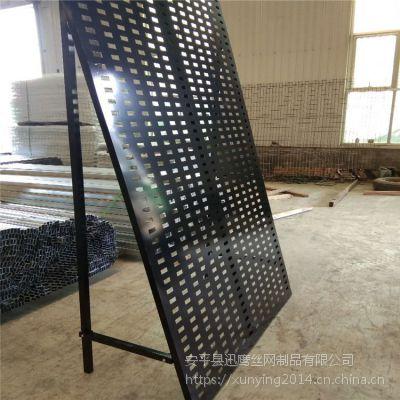 冲孔板展架@陶瓷网孔板供应商@衡阳市展板架子