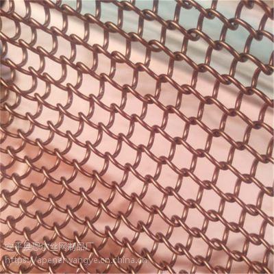 北京圆环装饰网,厂家供应金属布金属垂帘,北京4s店装饰网