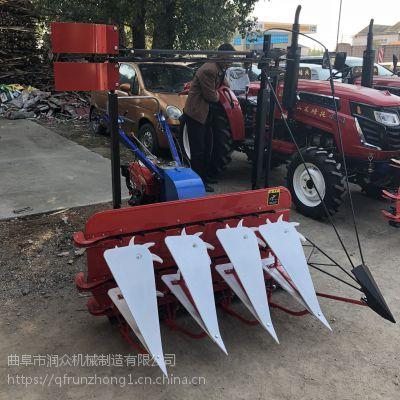 农用小型辣椒手扶割倒机 拖拉机安装简单收割机 农田前置式割晒机