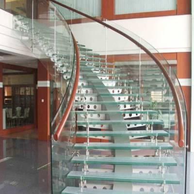 四川弯钢玻璃,四川弯钢夹层玻璃5~20mm厚定制