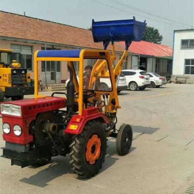 新品上市工程型装载机 小型两驱铲运车 农村改装铲掘拖拉机
