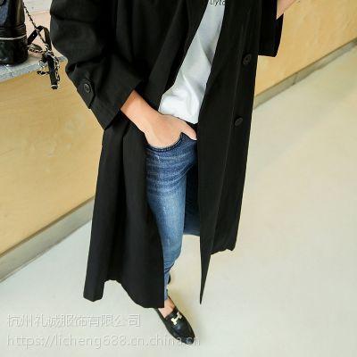 莫兹女装折扣店加盟哪家好折扣 品牌中老年女装尾货灰色打底裤