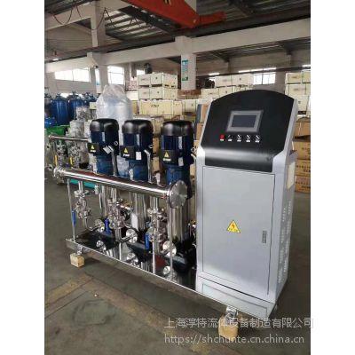淳特恒压变频供水设备/淳特不锈钢变频恒压供水设备