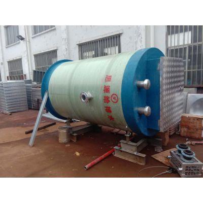 一体化预制泵站 玻璃钢筒体污水提升泵站可定制厂家直销