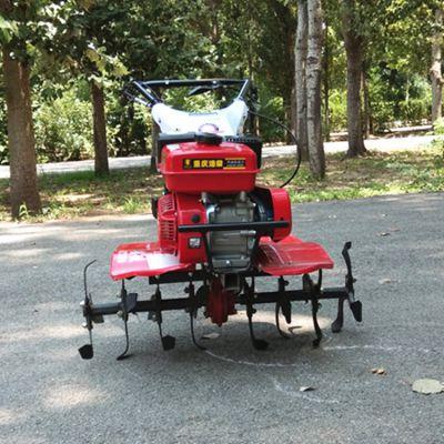 果园用四驱微耕机大棚自走式微耕机农田蔬菜基地松土翻地机