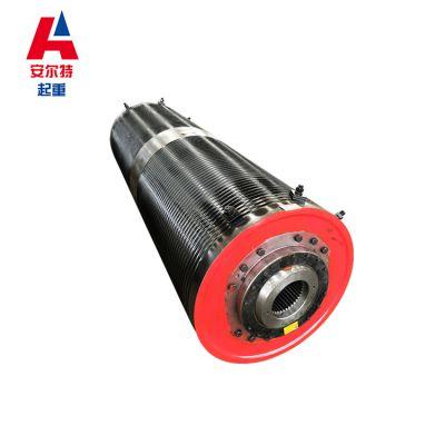 钢板式焊接卷筒组 10T起重机卷筒 Φ500*1500抓斗
