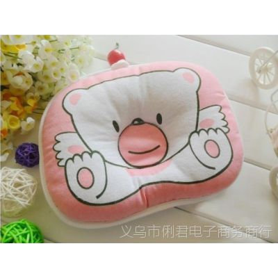 小熊枕头 糖果型婴儿定型枕头 宝宝纠正睡姿枕头 儿童小枕头睡枕