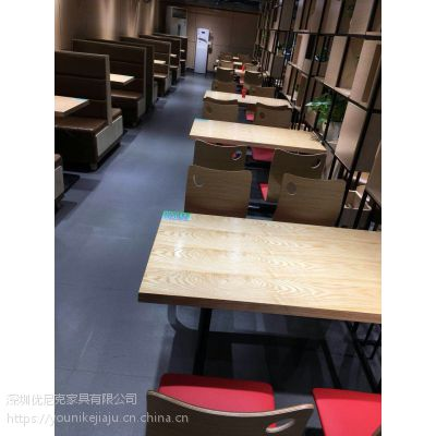 2018新款快餐桌椅工厂价销售质量有保障值得信赖!