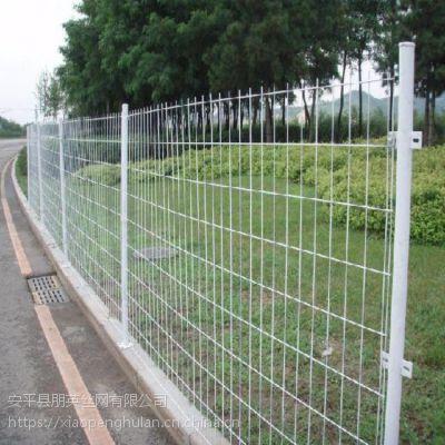 朋英 厂家直销框架隔离防护网 双边丝护栏网 镀锌喷塑