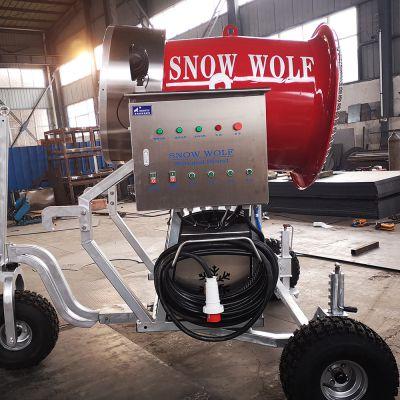 全新二手造雪机租赁价格 滑雪场造雪机规划及游乐设备