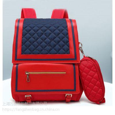 来图定做学生书包来样定做双肩包箱包礼品定制
