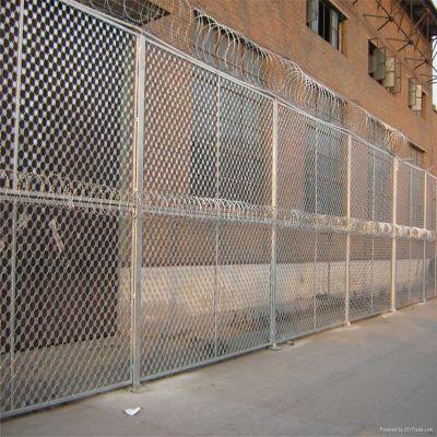 看守所围网 新型钢网墙 监狱看守所专用铁丝网