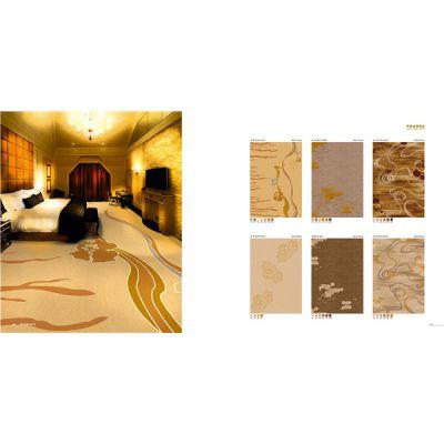 郑州条纹渐变丙纶小方块地毯阻燃房间走廊拼接地毯