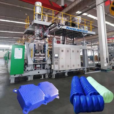 新型吹塑渔排生产线通佳养殖浮球设备图片
