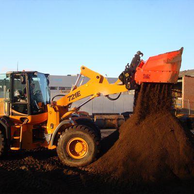 芬兰阿鲁(allu)DH3-12 土壤修复阿鲁斗 挖掘机筛分斗