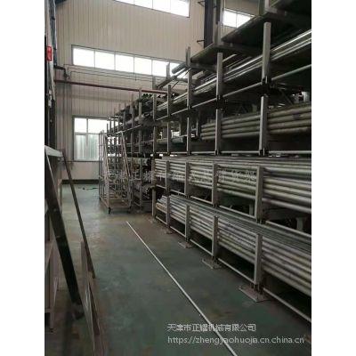 江苏悬臂货架规格 伸缩双悬臂货架优点 不锈钢管存储