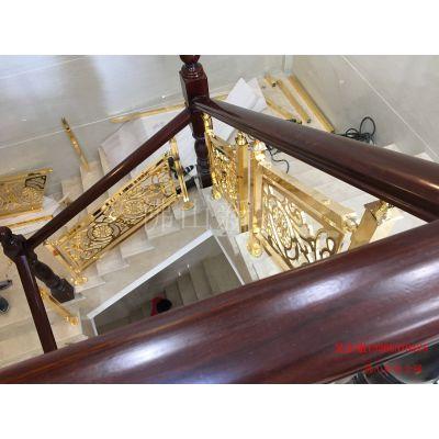 绥宁铝艺楼梯铜艺楼梯新艺术护栏还不错